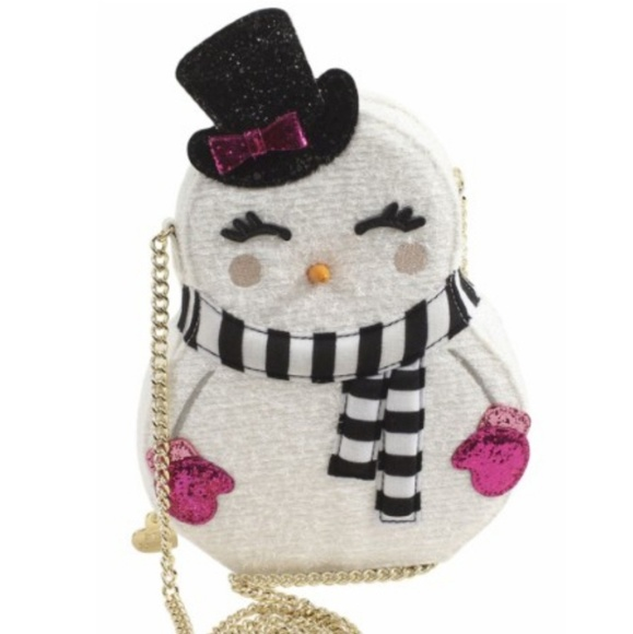 Betsey Johnson Snowgal Crossbody Bag